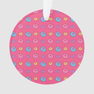 Pink donut pattern
