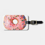pink donut tags for bags