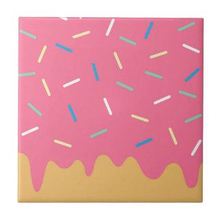 Pink Donut Tile