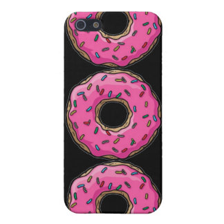 PINK DONUTS iPhone 5/5S COVER