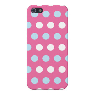 Pink Dot Mix Iphone 4 Case