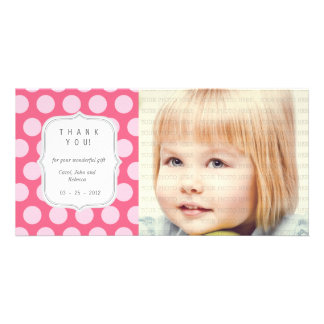 Pink Dots - Any Occasion Thank you Card