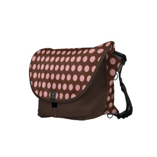 Pink Dots Baby Diaper Messenger Bag Gift