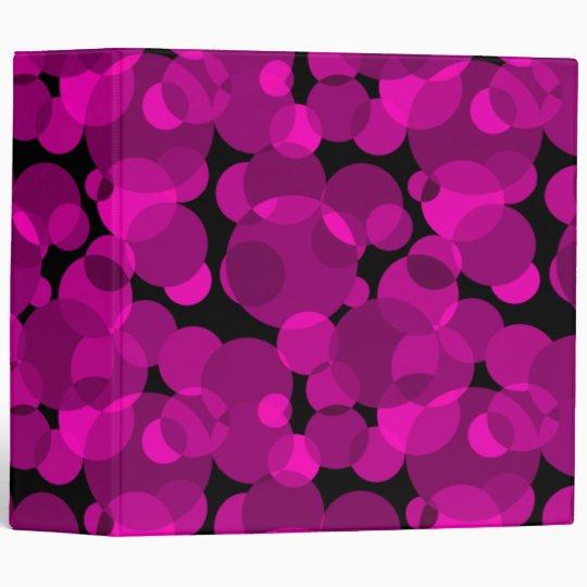 Pink Dots Binder