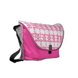 Pink Dots Messenger Bag