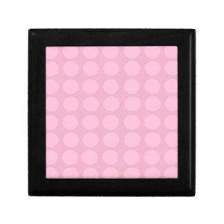 Pink Dots Pattern Gift Box