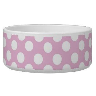 Pink Dotty Pet Bowl