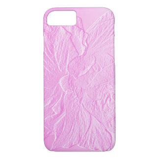 Pink double hibiscus iPhone 8/7 case