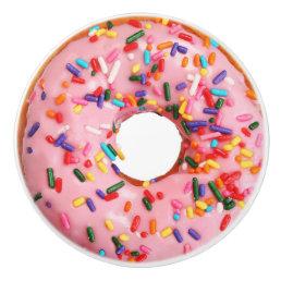 Pink Doughnut 2 Drawer Knob