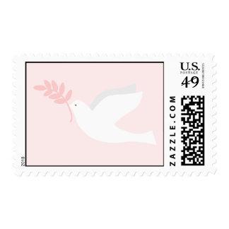Pink Dove Postage
