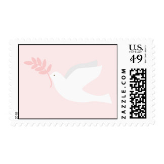Pink Dove Postage