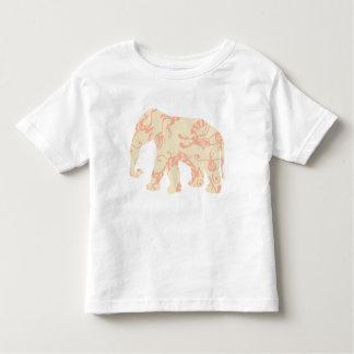 Pink Dragon Elephant Toddler T-shirt