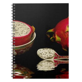 Pink Dragon Fruit Notebook