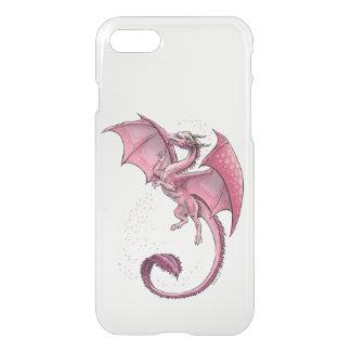Pink Dragon of Spring Fantasy Art iPhone 7 Case