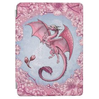Pink Dragon of Spring Nature Fantasy Art iPad Air Cover