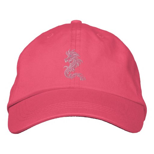 Pink Dragon Tribe Embroidered Baseball Caps