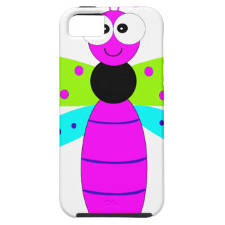 PINK DRAGONFLY iPhone SE/5/5s CASE