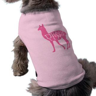 Pink Drama Llama Shirt