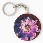 Pink Dream - Fractal Keychain