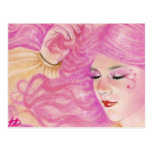 Pink Dreams BCA ART Postcard