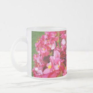 Pink_Droplets_Of_Spring,_Frosted_Glass_Beer_Mug. Frosted Glass Coffee Mug