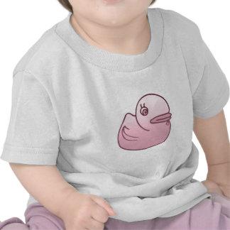 Pink duck shirts