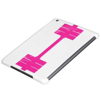 Pink Dumbbell / Barbell Case For iPad Air