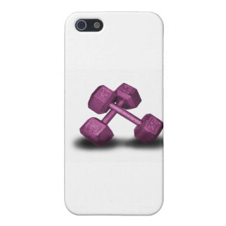 Pink Dumbbells Merchandise iPhone 5/5S Covers