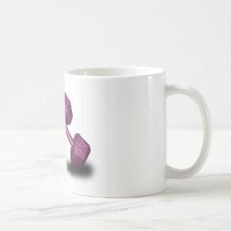 Pink Dumbbells Merchandise Classic White Coffee Mug