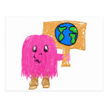 Pink Earth Postcards