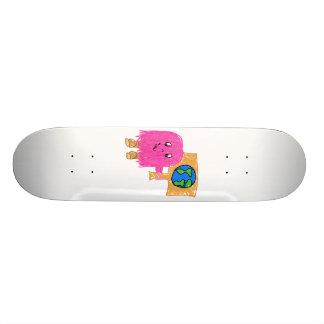 Pink Earth Skateboard Decks