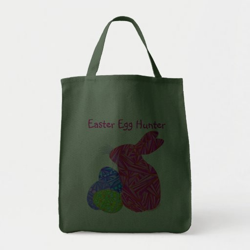 Pink Easter Bunny And Eggs Tote Bag