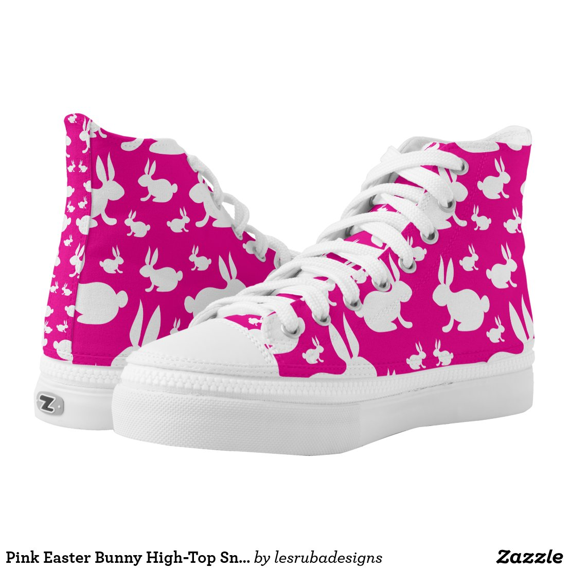 Bunny High-Top Sneakers