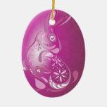 Pink Easter Bunny - NBG Christmas Ornament