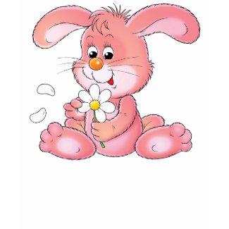 Pink Easter Bunny T-shirt shirt
