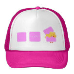 Pink easter hats