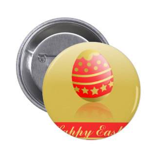 Pink Easter Pinback Button