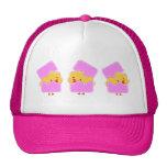 Pink easter trucker hats