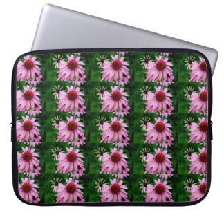 pink echinacea flower sleeve