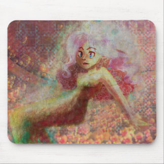 Pink Effervescence Mouse Pad