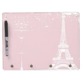 Pink Eiffel Tower Dry-Erase Boards