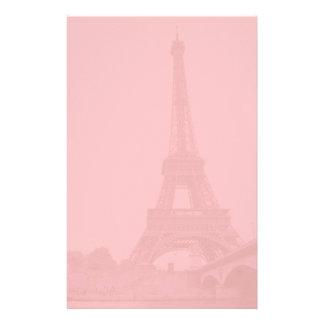 Pink Eiffel Tower Stationery
