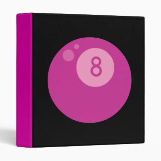 Pink Eightball Binder
