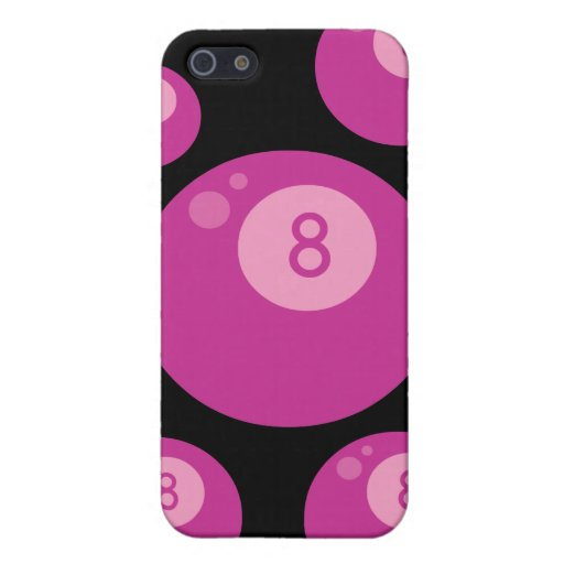 Pink Eightball iPhone 5 Cases