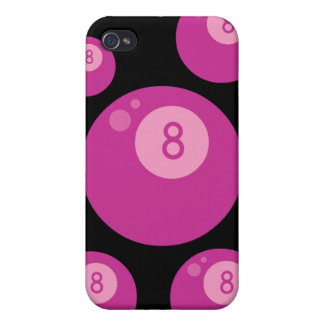 Pink Eightball Covers For iPhone 4