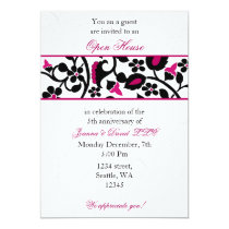 pink Elegant Corporate party Invitation