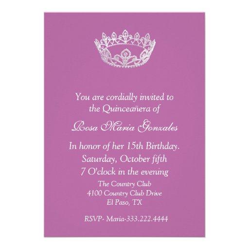 Invite Paper was luxury invitation example