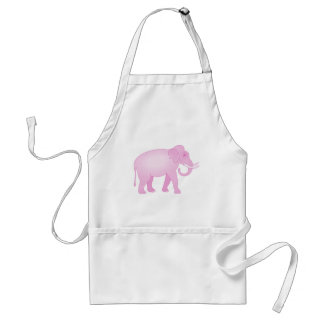Pink Elephant Adult Apron
