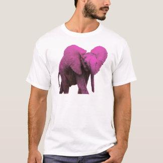 Pink Elephant Blue Eyes.png T-Shirt