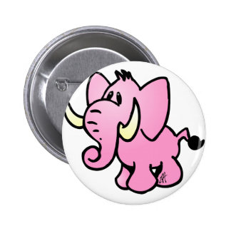 Pink Elephant Button